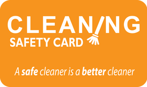 Cleaning Safety Card